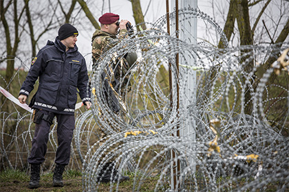 Словения объявила о закрытии границы для беженцев