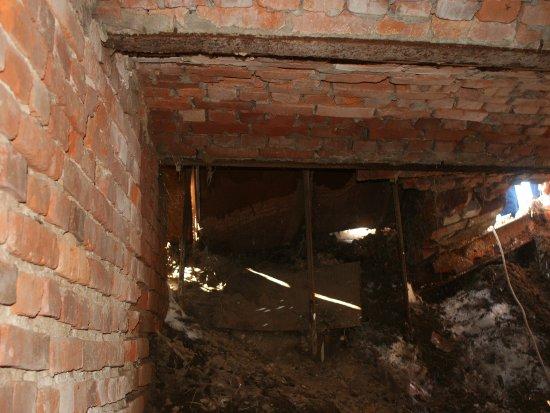 В земляном валу возле Громовой башни нашли «тайную комнату»