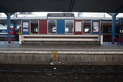 Пассажиры вокзала Шарлеруа-юг в Бельгии эвакуированы