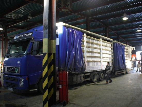 Смоленские таможенники завернули 39 тонн турецких томатов