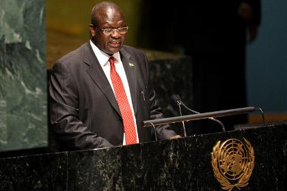 Лидер повстанцев Южного Судана вернулся на пост вице-президента