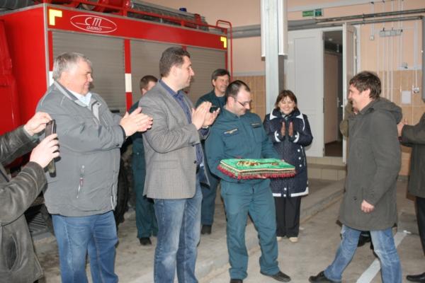В Смоленской области появилась новая пожарная часть