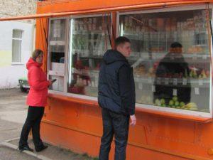 В Смоленске продолжают борьбу с «витаминными» ларьками