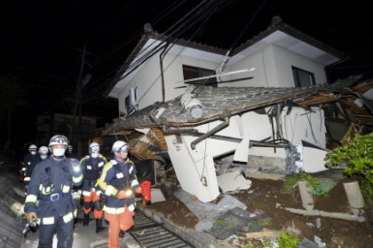Число погибших при землетрясении в Японии выросло до 9