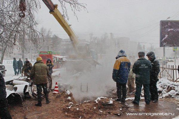 Смоленская область вошла в пятёрку регионов с наибольшим количеством аварий на теплосетях