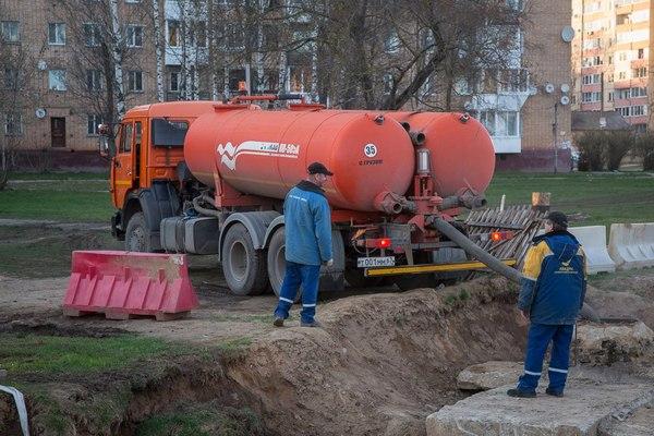 В Смоленске завершили ремонт магистральной теплосети в районе улицы Фрунзе