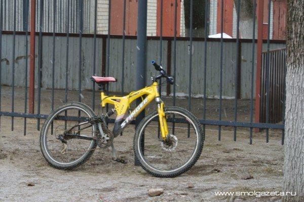 В Смоленской области велосипедист попал под мотоцикл