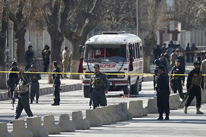 В столице Афганистана произошел взрыв