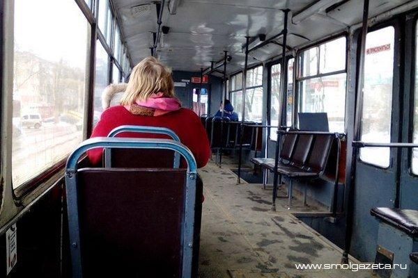 Трамвай продолжит ходить на железнодорожный вокзал в Смоленске