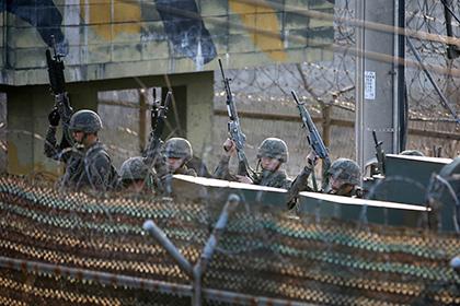 Армия Южной Кореи провела боевые стрельбы около границы с КНДР