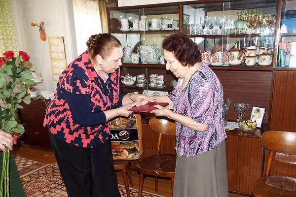 Жительница Смоленска отметила 95-летие