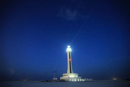 Китай построил новый маяк на одном из спорных островов Спратли