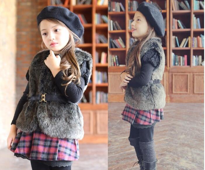 Модная одежда для малышей – жилеты