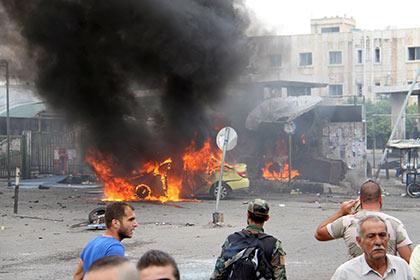 Число погибших в терактах в Сирии превысило 100 человек