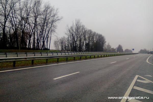 В Смоленской области перевернулся Opel