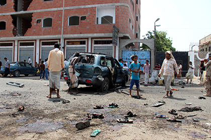 В университете Йемена произошел мощный взрыв
