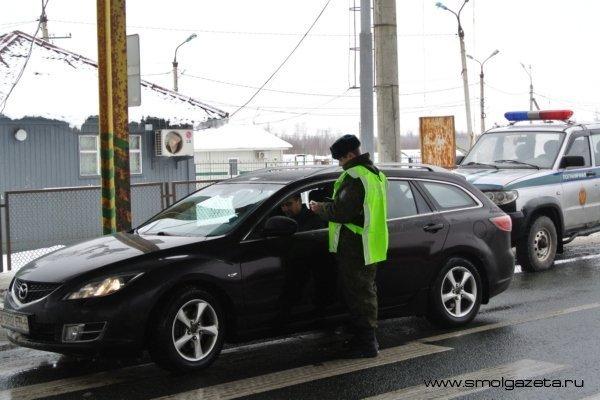 За минувшие трое суток 24 иностранца нарушили режим Государственной границы на территории Смоленской области