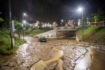 На юге Германии от наводнения погибли три человека