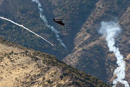 Турецкий вертолет разбился во время операции против курдов