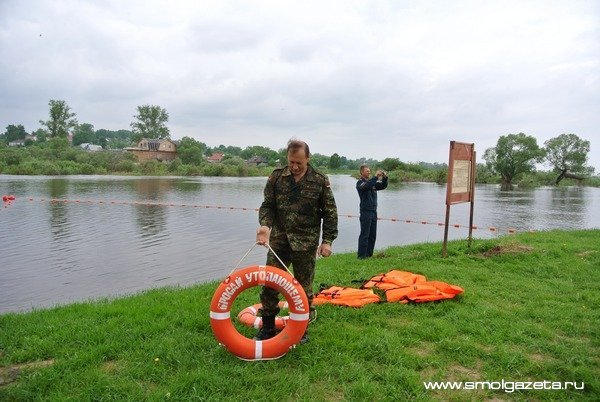 В Смоленской области 1 июня стартует купальный сезон