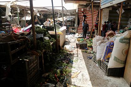 В результате серии взрывов в Багдаде погибли десятки людей