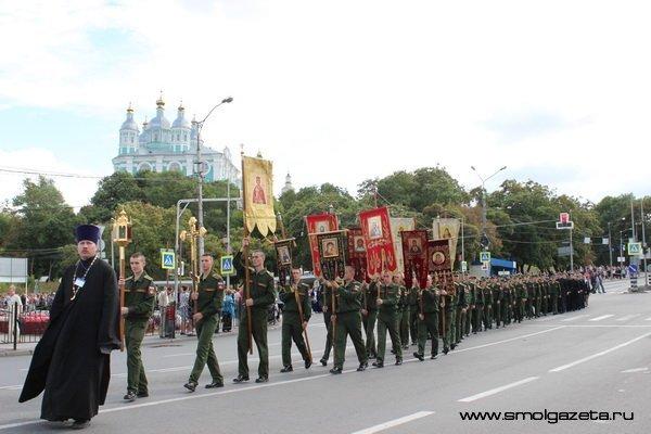 В Смоленске 22 мая из-за Крестного хода перекроют три улицы