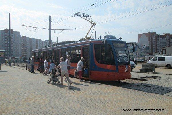 В Смоленске на 9 мая пойдут дополнительные трамваи