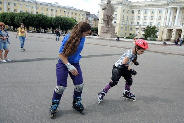 В Смоленске устроят бесплатный мастер-класс по катанию на роликах
