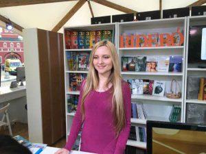 Молодая писательница из Рославля представила в Москве новый детектив