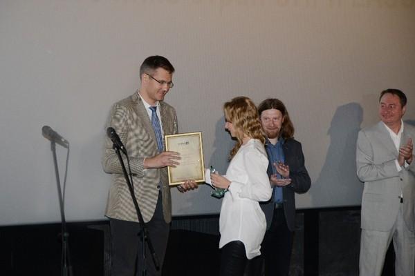 В Смоленске наградили победителей кинофестиваля «Евразия.DOC»