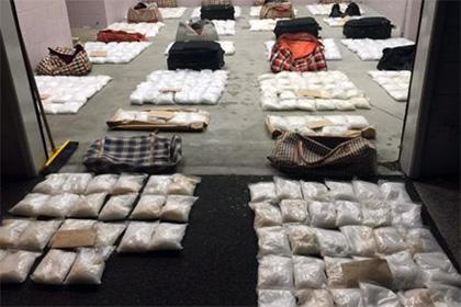 В Новой Зеландии задержали партию метамфетамина на 315 миллионов долларов США