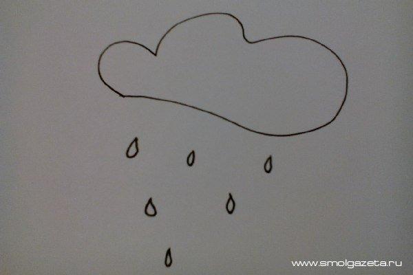 В среду Смоленскую область ждут дожди и грозы