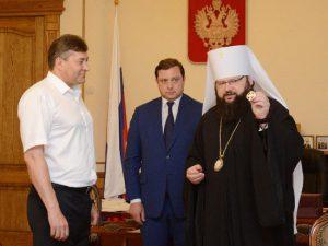 В Смоленске вручили орден Дмитрия Донского экс-начальнику УМВД Скокову