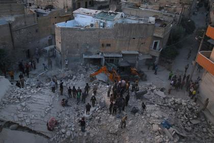 Боевики обстреляли жилые дома в провинции Алеппо