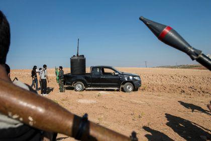 В Алеппо начались бои с применением бронетехники