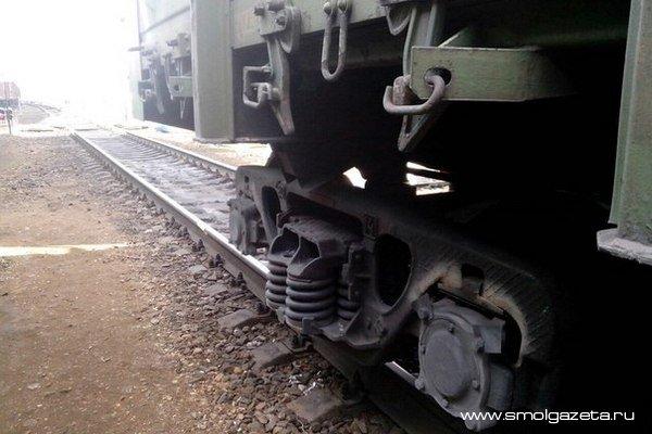 В Смоленской области ребенок попал под колеса поезда