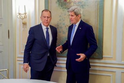 Лавров и Керри обсудили совместные действия против «Джабхат-ан-Нусры»