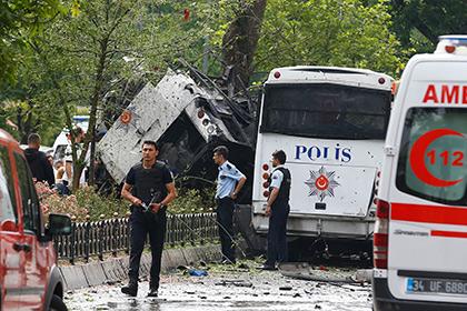В центре Стамбула взорвалась бомба