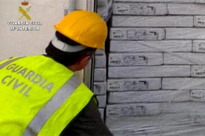 В испанском порту обнаружено полтонны колумбийского кокаина