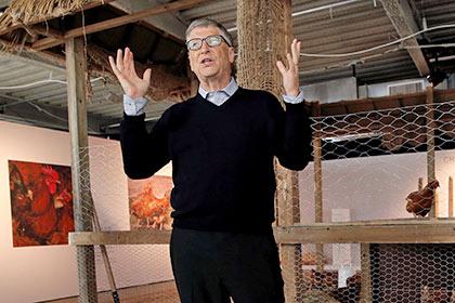 Билл Гейтс собрался передать Африке 100 тысяч кур