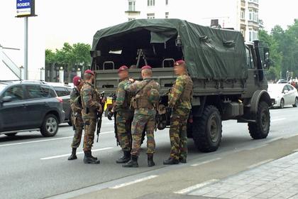 В Брюсселе задержан вероятный террорист-смертник