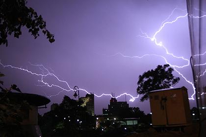 На севере Индии молнии убили 62 человека