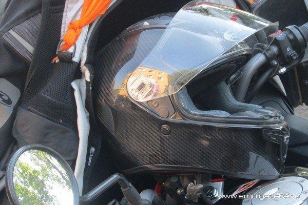 Под Смоленском столкнулись грузовик «MAN» и мотоцикл. Есть пострадавший