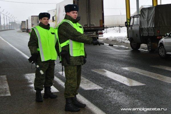 Смоленские пограничники за сутки поймали 14 нелегалов