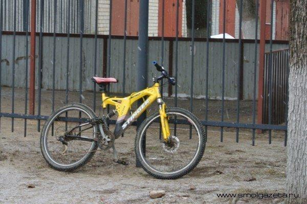 В Смоленской области Matiz сбил велосипедиста