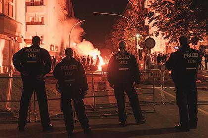 Левые радикалы устроили погромы в Берлине