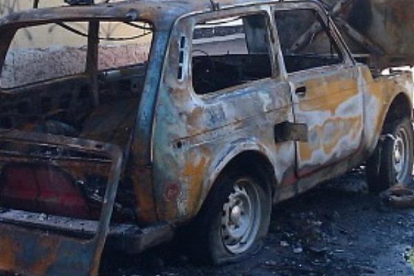 В Смоленской области на ходу загорелась «Нива»