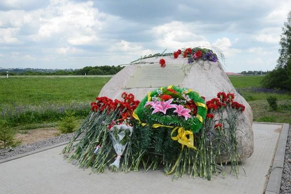 В Вязовеньках под Смоленском открыли памятник жертвам фашистских оккупантов