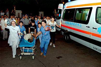 В Китае в результате торнадо погиб 51 человек