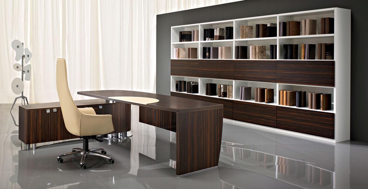 Офисная мебель. Выбор дизайна для кабинета директора